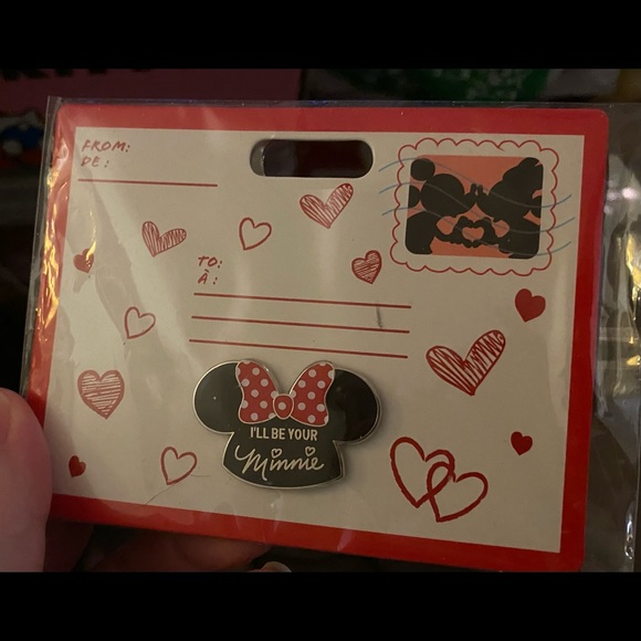 """Disney Pin - """"I'll be your Minnie"""" ears"""
